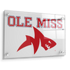Ole Miss Rebels - Ole Miss Land Shark - College Wall Art #Acrylic