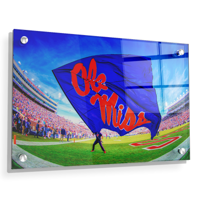 Ole Miss Rebels - This Is Ole Miss - College Wall Art #Acrylic