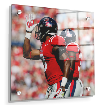 Ole Miss Rebels - Fins Up - College Wall Art #Acrylic