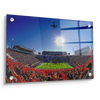 Ole Miss Rebels - Flight Over - College Wall Art #Acrylic