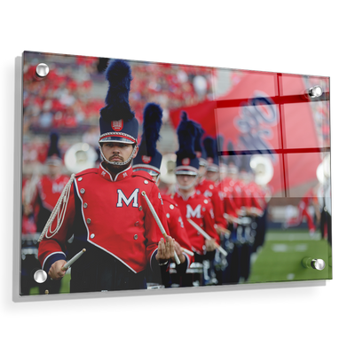 Ole Miss Rebels - Marching In - College Wall Art #Acrylic