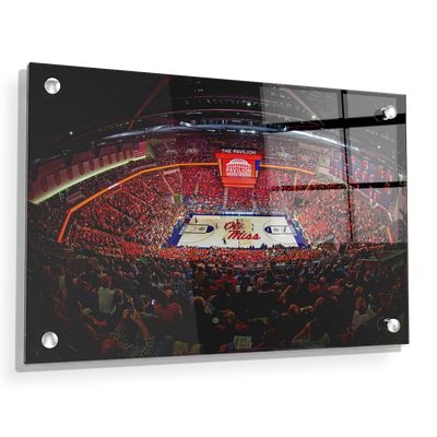 Ole Miss Rebels - The Pavilion Wide Angle - College Wall Art #Acrylic