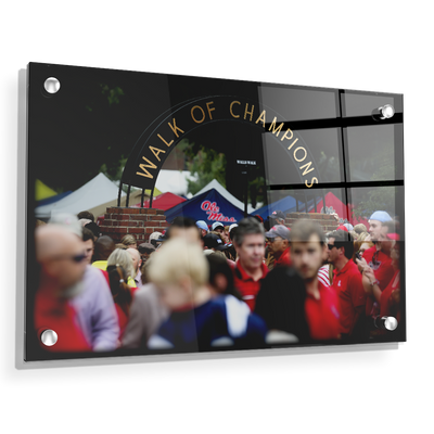 Ole Miss Rebels - Walk of Champions Grove - College Wall Art #Acrylic
