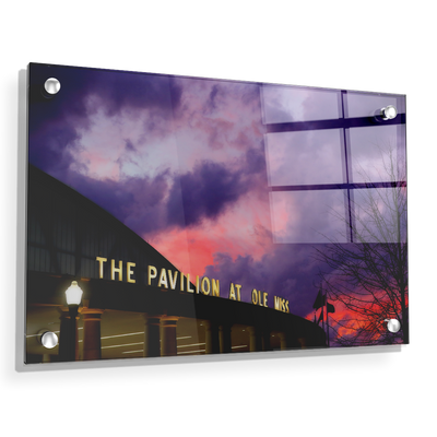 Ole Miss Rebels - The Pavilion at Ole Miss - College Wall Art #Acrylic