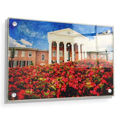 Ole Miss Rebels - Lyceum Paint - College Wall Art #Acrylic