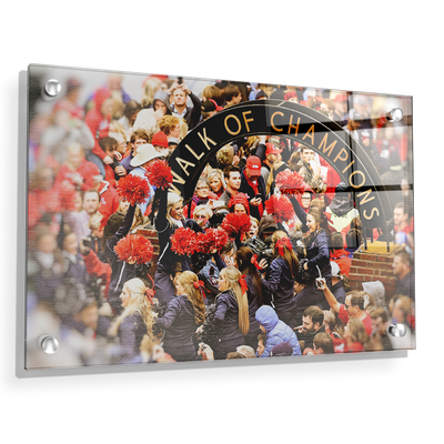 Ole Miss Rebels - Walk of Champions Cheer - College Wall Art #Acrylic
