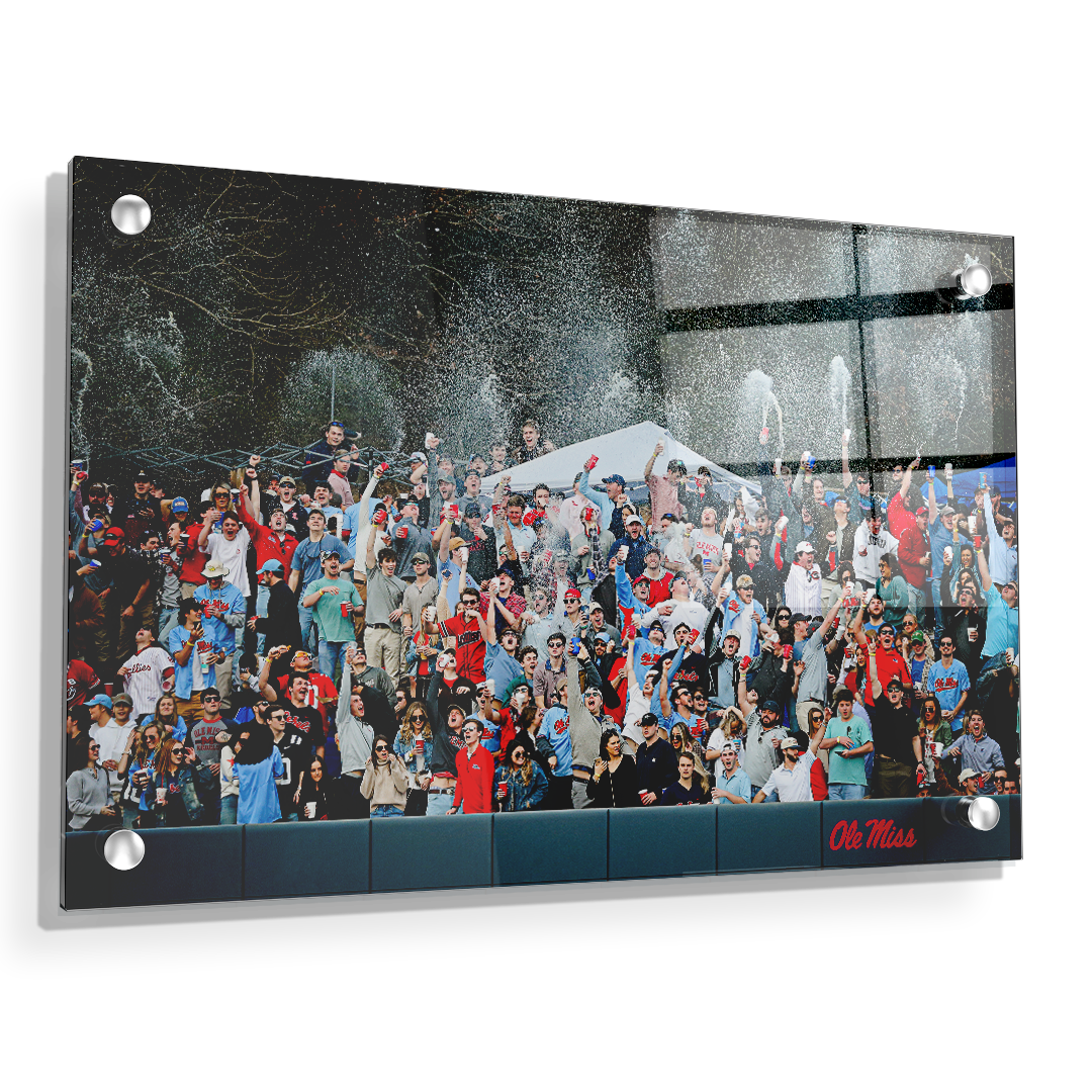 Ole Miss Rebels - The First Swayze Shower of Spring - College Wall Art #Canvas