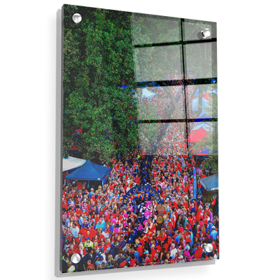 Ole Miss Rebels - Walk Of Champions from new Student Union - College Wall Art #Acrylic