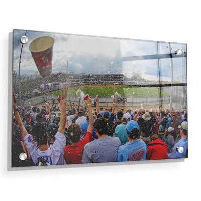 Ole Miss Rebels - Oxford Shower - College Wall Art #Acrylic