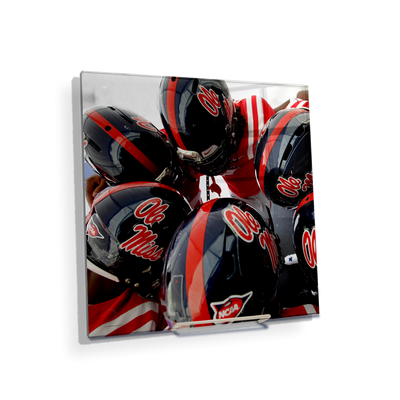Ole Miss Rebels - Huddle - College Wall Art #Desktop Mini