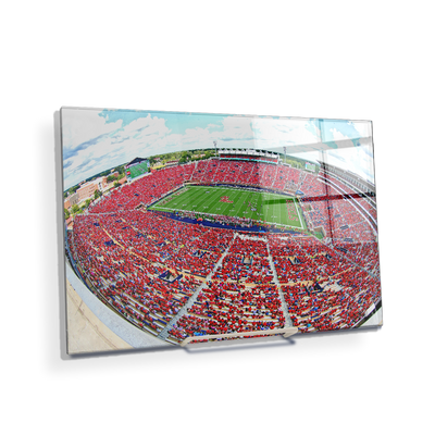Ole Miss Rebels - Red Out - College Wall Art #Acrylic Mini