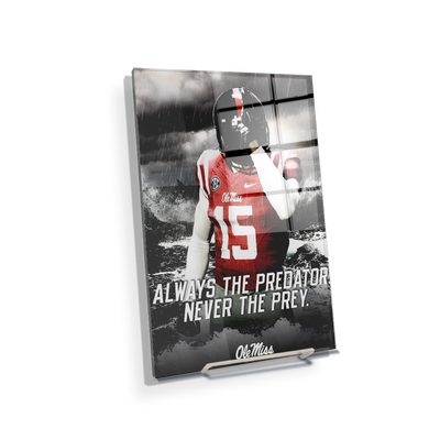 Ole Miss Rebels - The Predator - College Wall Art #Acrylic Mini
