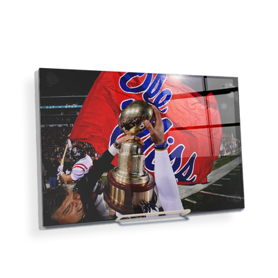 Ole Miss Rebels - Victory Lap - College Wall Art #Acrylic Mini