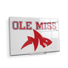 Ole Miss Rebels - Ole Miss Land Shark - College Wall Art #Acrylic Mini