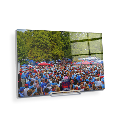 Ole Miss Rebels - Swarm the Grove at Ole Miss - College Wall Art #Acrylic Mini