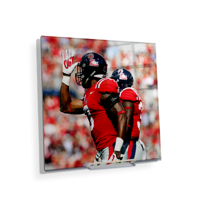 Ole Miss Rebels - Fins Up - College Wall Art #Acrylic Mini