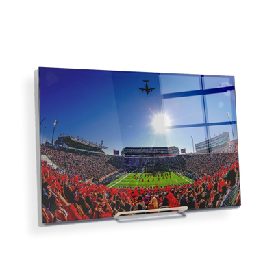 Ole Miss Rebels - Flight Over - College Wall Art #Acrylic Mini