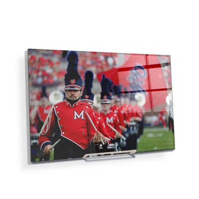Ole Miss Rebels - Marching In - College Wall Art #Acrylic Mini