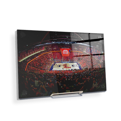 Ole Miss Rebels - The Pavilion Wide Angle - College Wall Art #Acrylic Mini