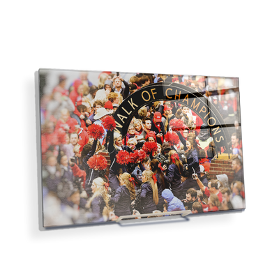 Ole Miss Rebels - Walk of Champions Cheer - College Wall Art #Acrylic Mini