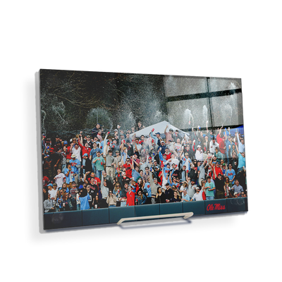 Ole Miss Rebels - The First Swayze Shower of Spring - College Wall Art #Acrylic Mini