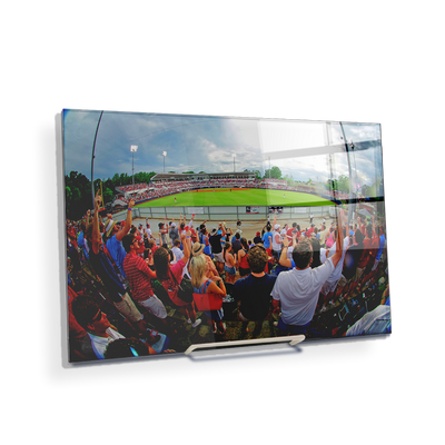 Ole Miss Rebels - Fisheye View of Swayze - College Wall Art #Acrylic Mini