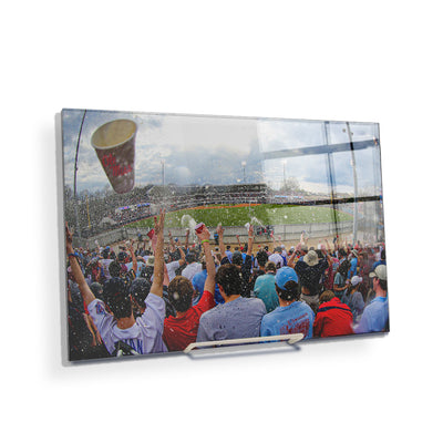 Ole Miss Rebels - Oxford Shower - College Wall Art #Acrylic Mini