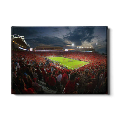 Ole Miss Rebels - Sunset Over Vaught-Hemingway - College Wall Art #Canvas