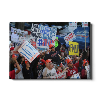 Ole Miss Rebels - Game Day Grove - College Wall Art #Canvas