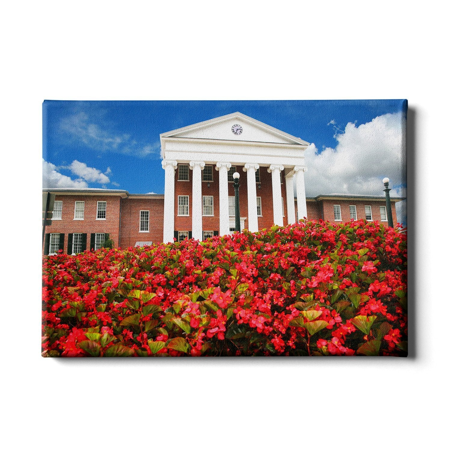 Ole Miss Rebels - Lyceum - College Wall Art #Canvas