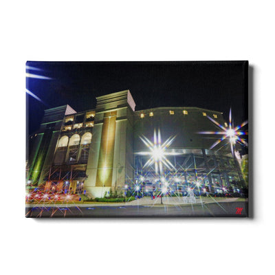 Ole Miss Rebels - Vaught Night - College Wall Art #Canvas