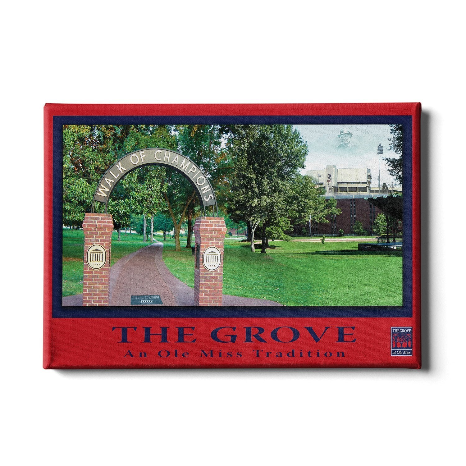 Ole Miss Rebels - The Grove an Ole Miss Tradition - College Wall Art #Canvas