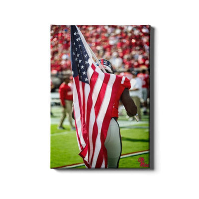 Ole Miss Rebels - Our Flag - College Wall Art #Canvas