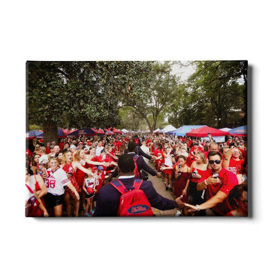 Ole Miss Rebels - The Walk - College Wall Art #Canvas