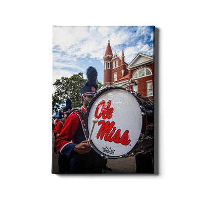 Ole Miss Rebels - Ole Miss Come Marching In - College Wall Art #Canvas