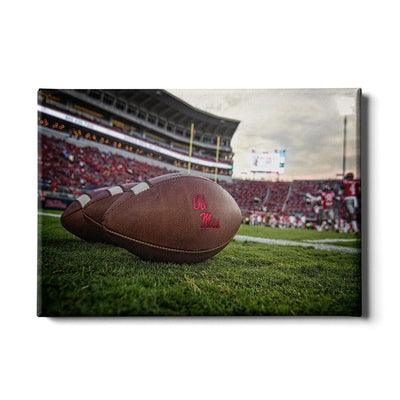 Ole Miss Rebels - Ole Miss Football - College Wall Art #Canvas
