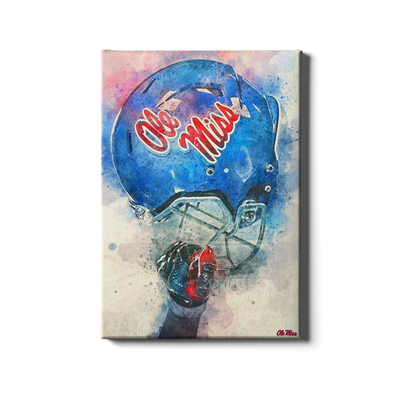 Ole Miss Rebels - Ole Miss Pride - College Wall Art #Canvas
