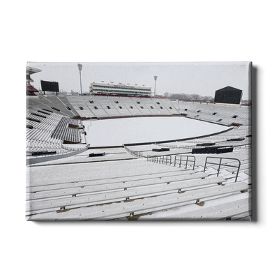 Ole Miss Rebels - Snow Day-Vaught- Hemingway - College Wall Art #Canvas