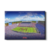 Ole Miss Rebels - Hotty Toddy - College Wall Art #Canvas