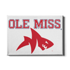 Ole Miss Rebels - Ole Miss Land Shark - College Wall Art #Canvas