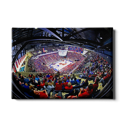 Ole Miss Rebels - Fisheye Pavilion - College Wall Art #Canvas