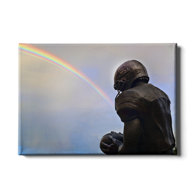 Ole Miss Rebels - Football Rainbow - College Wall Art #Canvas