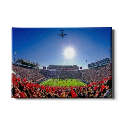 Ole Miss Rebels - Flight Over - College Wall Art #Canvas
