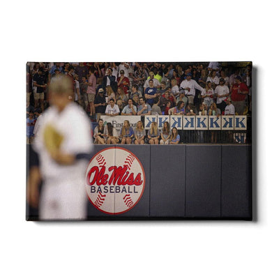 Ole Miss Rebels - Ole Miss Baseball - College Wall Art #Canvas