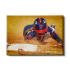 Ole Miss Rebels - Softball Safe - College Wall Art #Canvas