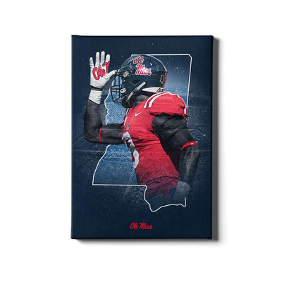 Ole Miss Rebels - Landshark State - College Wall Art #Canvas