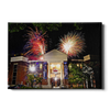 Ole Miss Rebels - Oxford University Stadium Fireworks - College Wall Art #Canvas