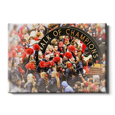 Ole Miss Rebels - Walk of Champions Cheer - College Wall Art #Canvas