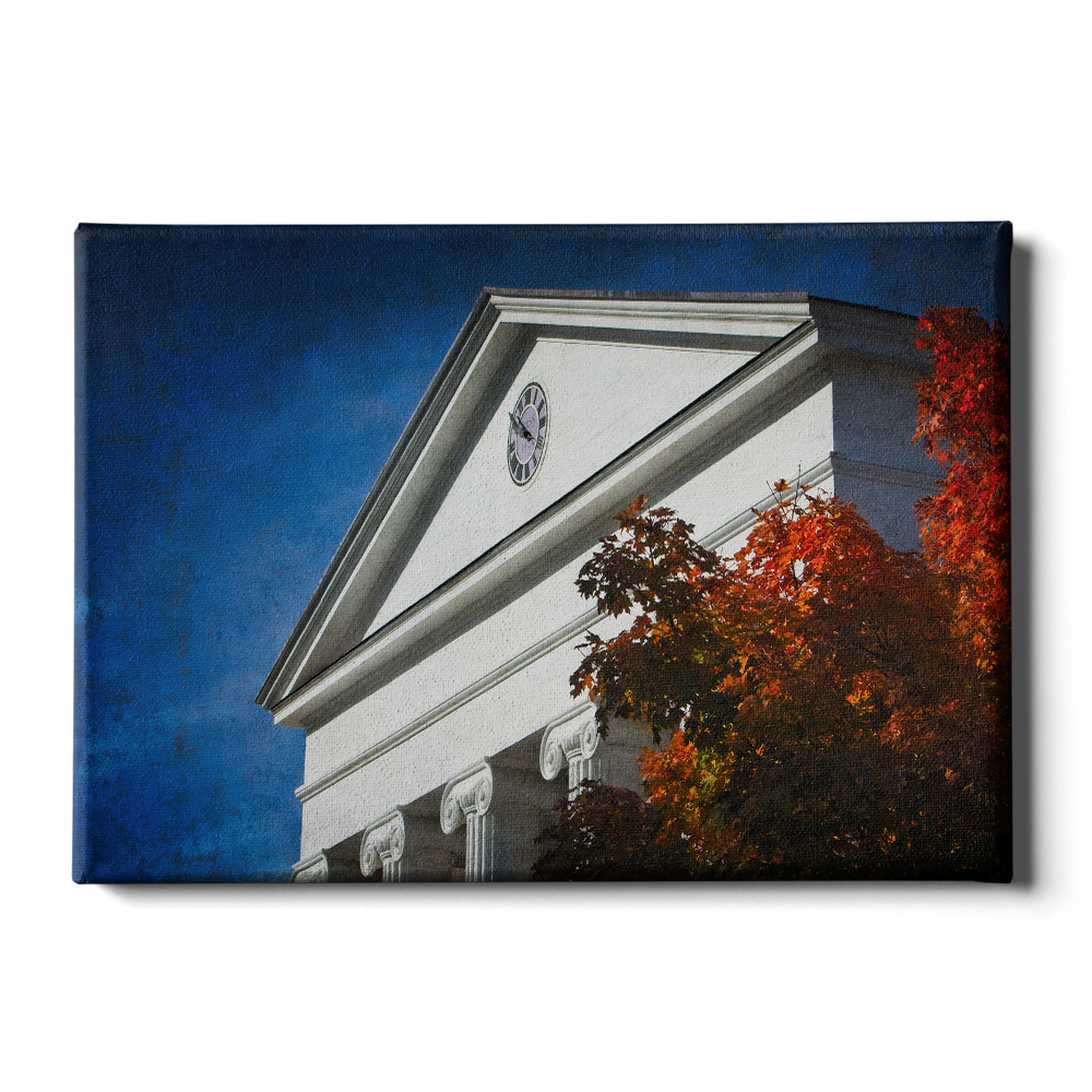 Ole Miss Rebels - Lyceum Autumn Paint - College Wall Art # Canvas