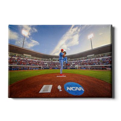 Ole Miss Rebels - NCAA Baseball 2019 - College Wall Art #Canvas